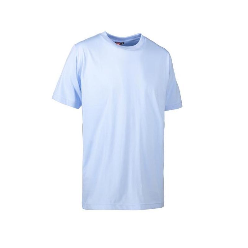 Heute im Angebot: PRO Wear T-Shirt | light 310 von ID / Farbe: hellblau / 50% BAUMWOLLE 50% POLYESTER in der Region kaufen