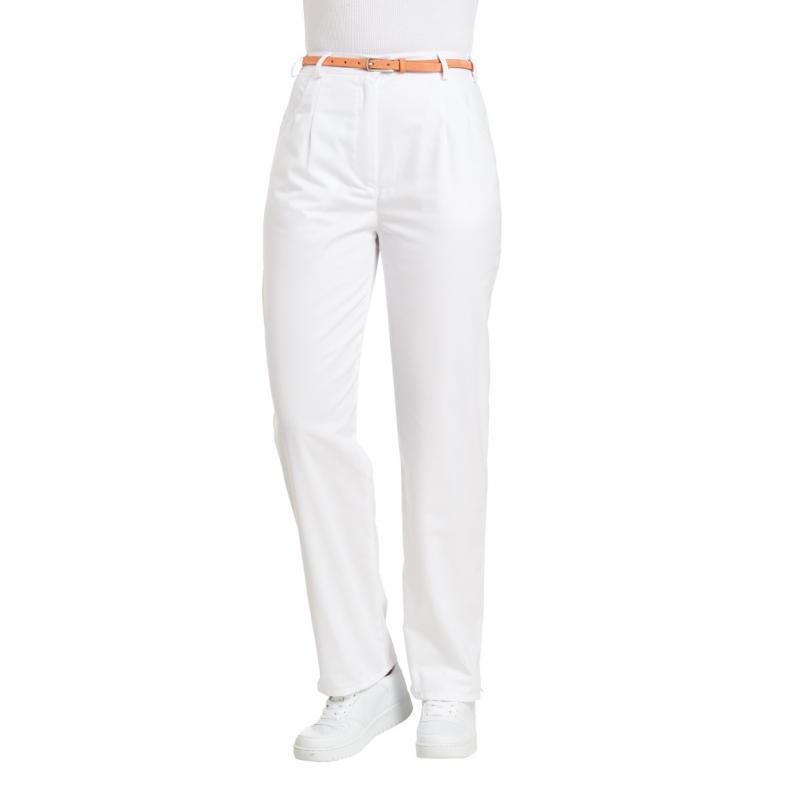 Heute im Angebot: Damenhose 270 von LEIBER / Farbe: weiß / 50 % Baumwolle 50 % Polyester in der Region Aachen