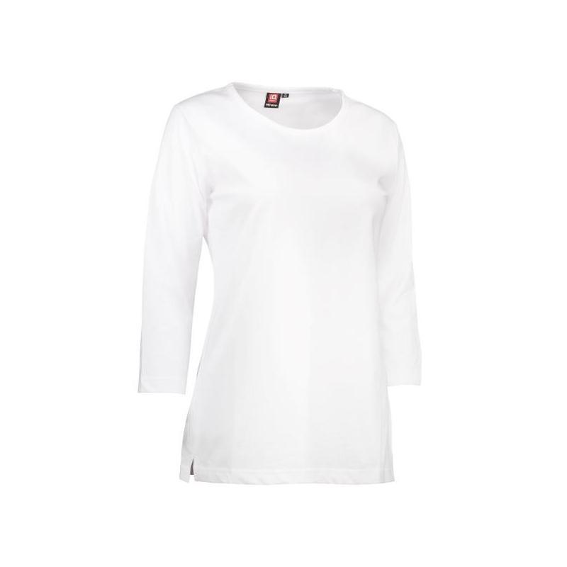 Heute im Angebot: PRO Wear Damen T-Shirt | 3/4-Arm 313 von ID / Farbe: weiß / 60% BAUMWOLLE 40% POLYESTER in der Region kaufen