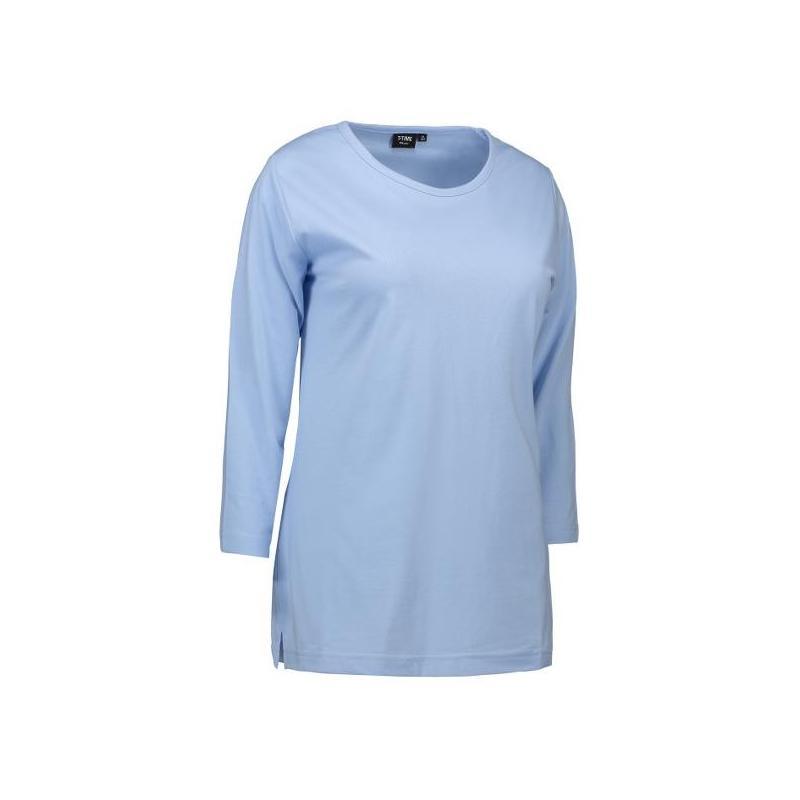 Heute im Angebot: PRO Wear Damen T-Shirt | 3/4-Arm 313 von ID / Farbe: hellblau / 60% BAUMWOLLE 40% POLYESTER in der Region kaufen