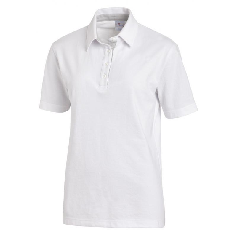 Heute im Angebot: Poloshirt 2637 von LEIBER / Farbe: weiß-silbergrau / 95 % Baumwolle 5 % Elasthan jetzt günstig kaufen