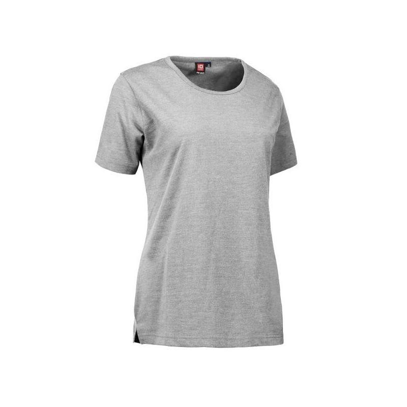 Heute im Angebot: PRO Wear Damen T-Shirt 312 von ID / Farbe: hellgrau / 60% BAUMWOLLE 40% POLYESTER jetzt günstig kaufen