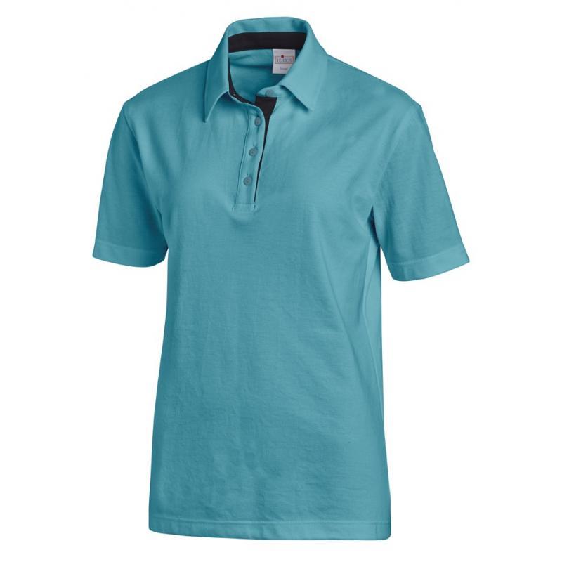Heute im Angebot: Poloshirt 2637 von LEIBER / Farbe: petrol-marine / 95 % Baumwolle 5 % Elasthan in der Region kaufen