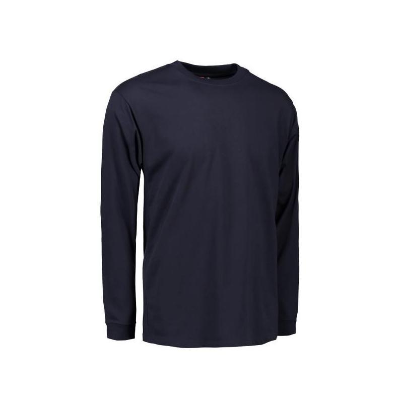 Heute im Angebot: PRO Wear Herren T-Shirt | Langarm 311 von ID / Farbe: navy / 60% BAUMWOLLE 40% POLYESTER in der Region Weimar
