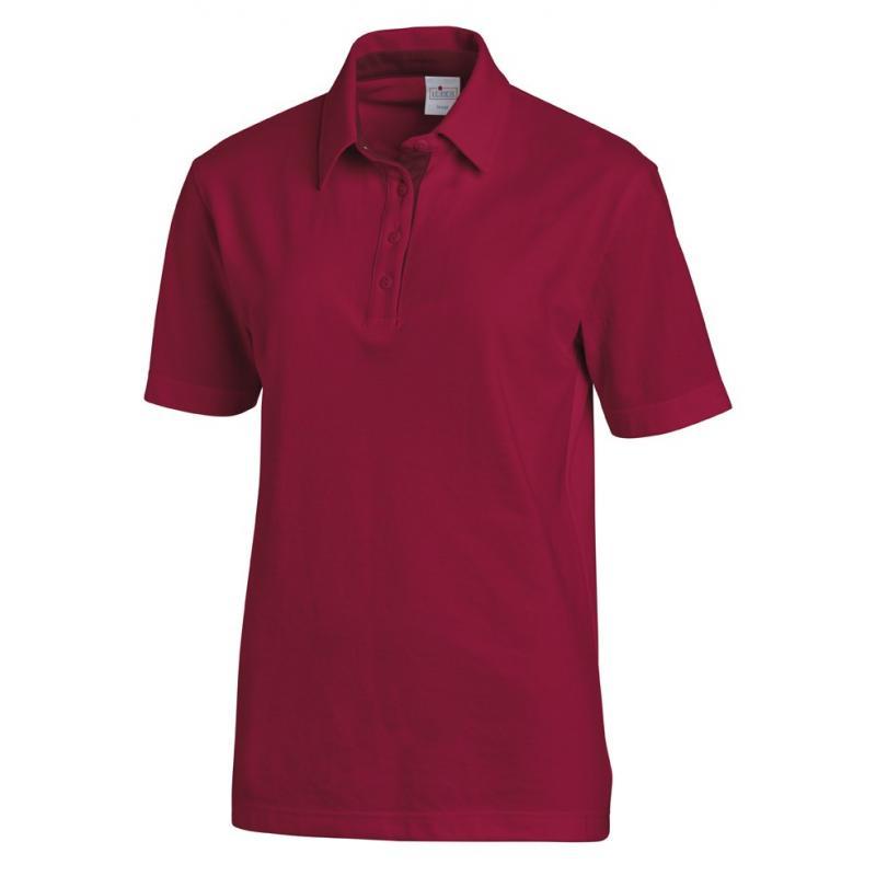 Heute im Angebot: Poloshirt 2637 von LEIBER / Farbe: beere-bordeaux / 95 % Baumwolle 5 % Elasthan jetzt günstig kaufen