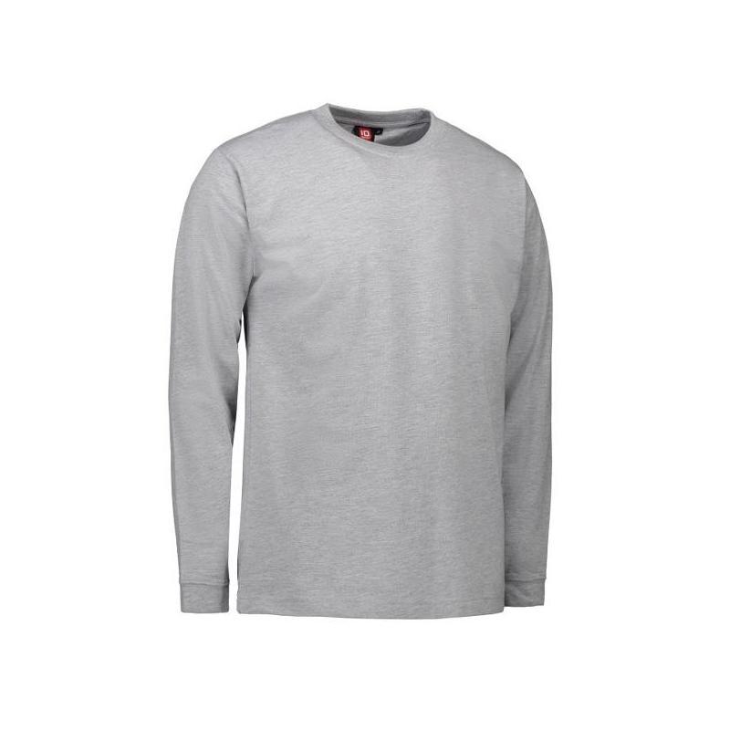 Heute im Angebot: PRO Wear Herren T-Shirt | Langarm 311 von ID / Farbe: hellgau / 60% BAUMWOLLE 40% POLYESTER