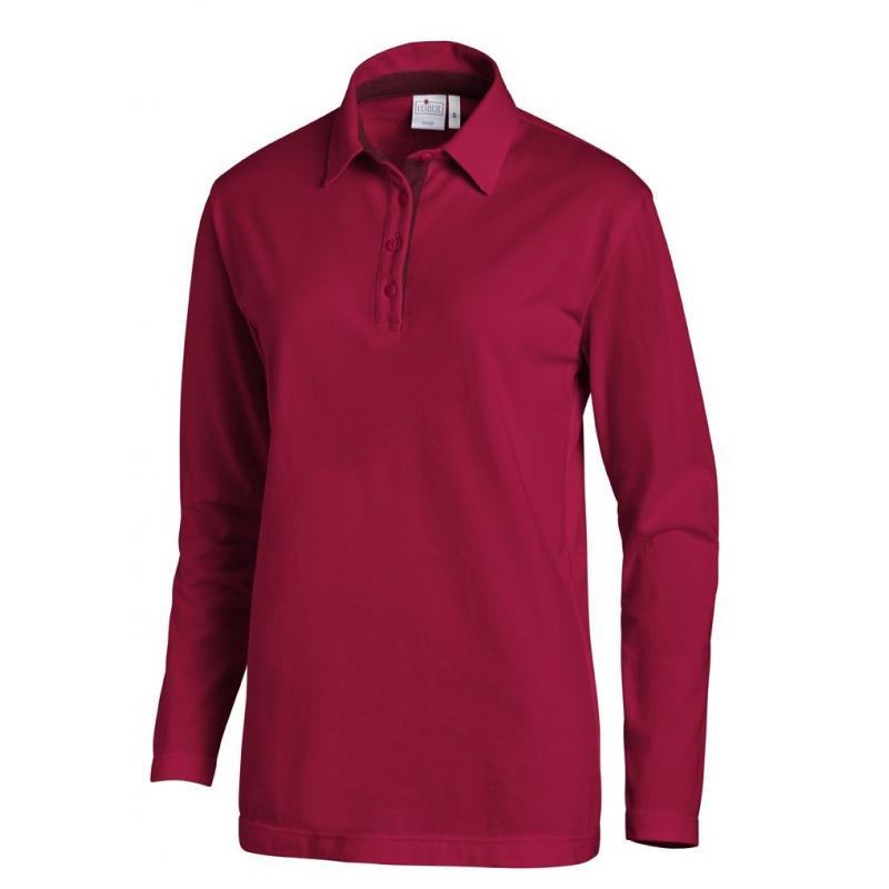 Heute im Angebot: Poloshirt 2638 von LEIBER / Farbe: beere-bordeaux / 95 % Baumwolle 5 % Elasthan jetzt günstig kaufen