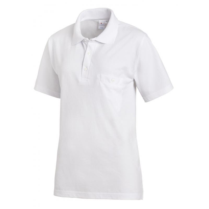 Heute im Angebot: Poloshirt 241 von LEIBER / Farbe: weiß / 50% Baumwolle 50% Polyester