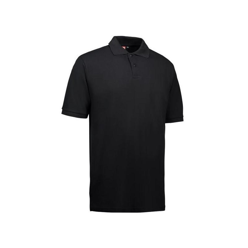 Heute im Angebot: YES Herren Poloshirt 2020 von ID / Farbe: schwarz / 100% POLYESTER in der Region kaufen