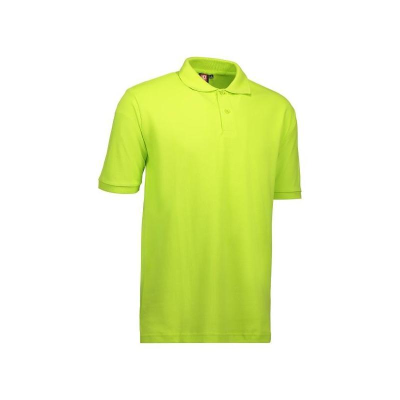 Heute im Angebot: YES Herren Poloshirt 2020 von ID / Farbe: lime / 100% POLYESTER