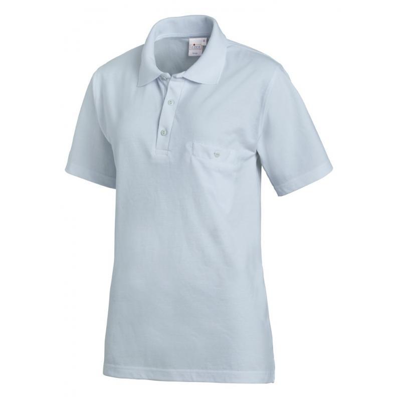 Heute im Angebot: Poloshirt 241 von LEIBER / Farbe: hellblau / 50% Baumwolle 50% Polyester in der Region Heidelberg