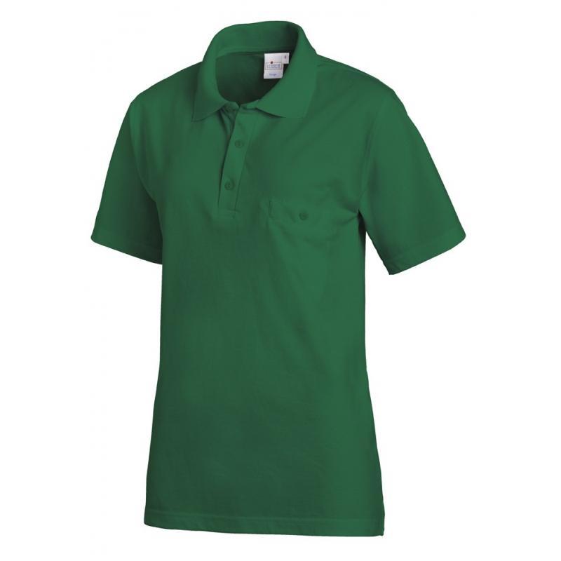 Heute im Angebot: Poloshirt 241 von LEIBER / Farbe: gärtnergrün / 50% Baumwolle 50% Polyester
