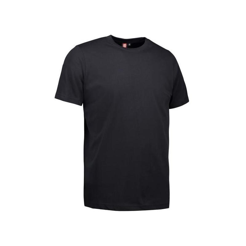 Heute im Angebot: YES Herren T-Shirt  2000 von ID / Farbe: schwarz / 100% POLYESTER