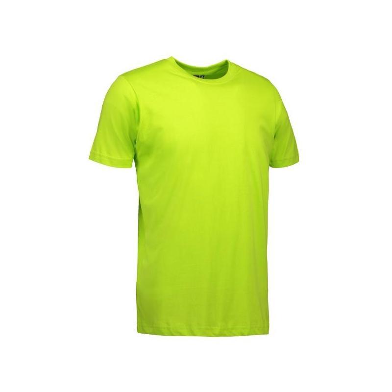 Heute im Angebot: YES Herren T-Shirt  2000 von ID / Farbe: lime / 100% POLYESTER in der Region Baden-Baden