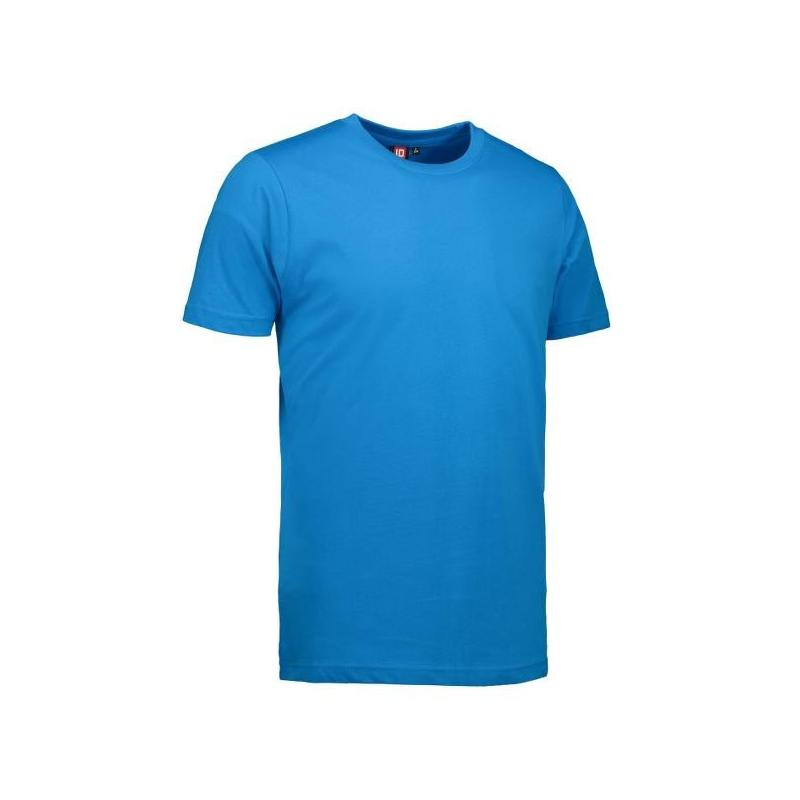 Heute im Angebot: YES Herren T-Shirt  2000 von ID / Farbe: türkis / 100% POLYESTER in der Region Aalen