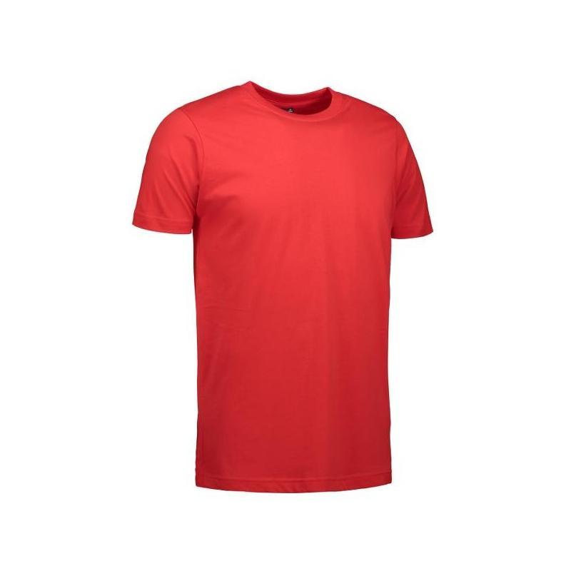 Heute im Angebot: YES Herren T-Shirt  2000 von ID / Farbe: rot  / 100% POLYESTER in der Region Berlin Gesundbrunnen