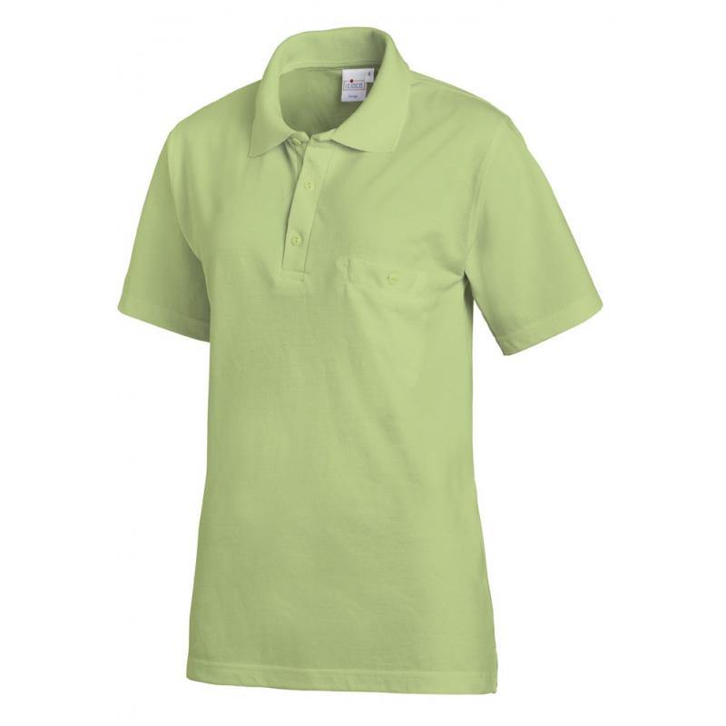 Heute im Angebot: Poloshirt 241 von LEIBER / Farbe: hellgrün / 50% Baumwolle 50% Polyester jetzt günstig kaufen