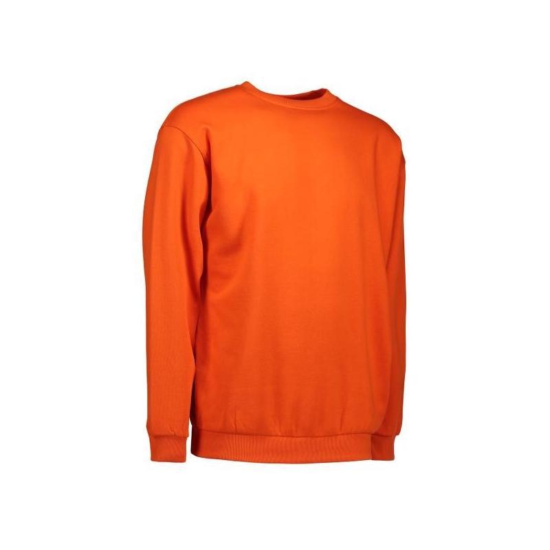 Heute im Angebot: Klassisches Herren Sweatshirt 600 von ID / Farbe: orange / 70% BAUMWOLLE 30% POLYESTER in der Region Schönefeld