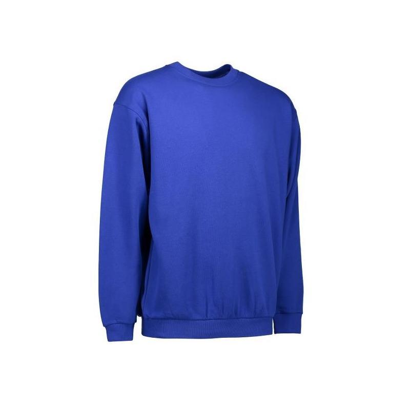 Heute im Angebot: Klassisches Herren Sweatshirt 600 von ID / Farbe: königsblau / 70% BAUMWOLLE 30% POLYESTER in der Region Blankenfelde
