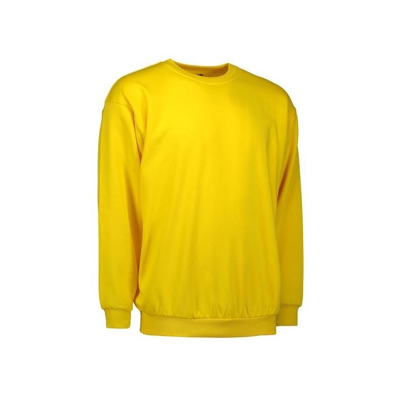 Heute im Angebot: Klassisches Herren Sweatshirt 600 von ID / Farbe: gelb / 70% BAUMWOLLE 30% POLYESTER in der Region Bayreuth