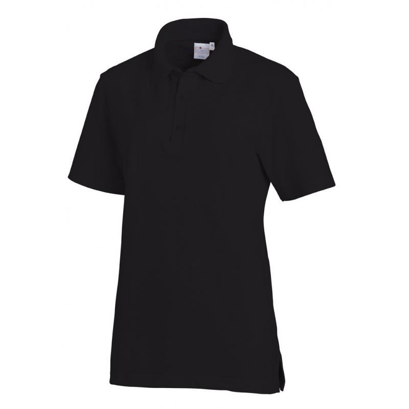 Heute im Angebot: Poloshirt 2515 von LEIBER / Farbe: schwarz / 50 % Baumwolle 50 % Polyester jetzt günstig kaufen