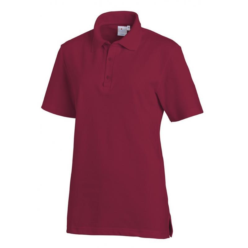 Heute im Angebot: Poloshirt 2515 von LEIBER / Farbe: beere / 50 % Baumwolle 50 % Polyester jetzt günstig kaufen