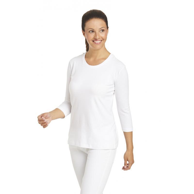 Heute im Angebot: T-Shirt 2529 von LEIBER / Farbe: weiß / 95 % Baumwolle 5 % Elasthan jetzt günstig kaufen