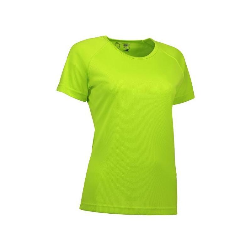 Heute im Angebot: GAME Active Damen T-Shirt 571 von ID / Farbe: lime / 100% POLYESTER jetzt günstig kaufen