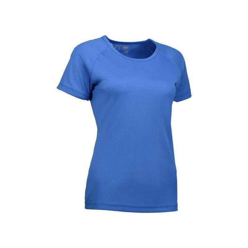 Heute im Angebot: GAME Active Damen T-Shirt 571 von ID / Farbe: azur / 100% POLYESTER in der Region Sindelfingen