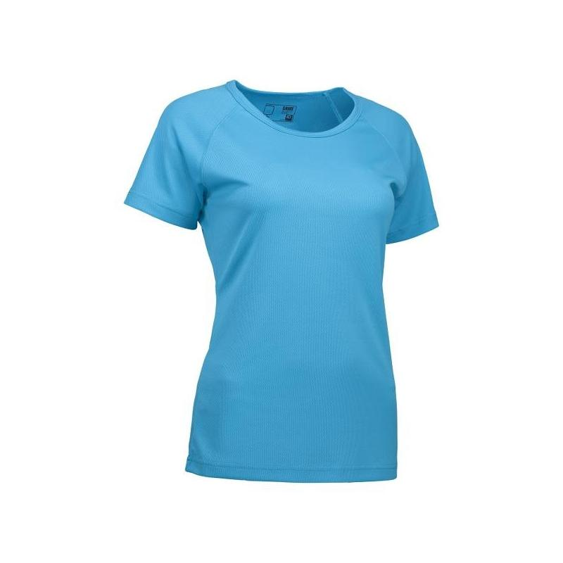 Heute im Angebot: GAME Active Damen T-Shirt 571 von ID / Farbe: cyan / 100% POLYESTER in der Region Berlin Buckow