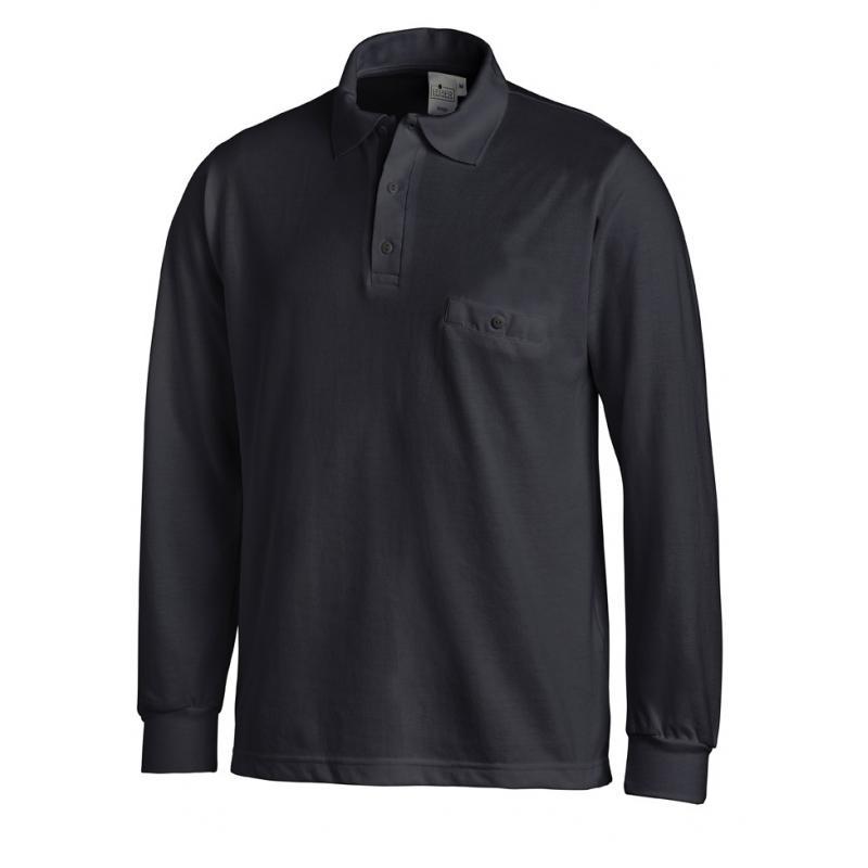 Heute im Angebot: Poloshirt 841 von LEIBER / Farbe: marine / 50 % Baumwolle 50 % Polyester jetzt günstig kaufen