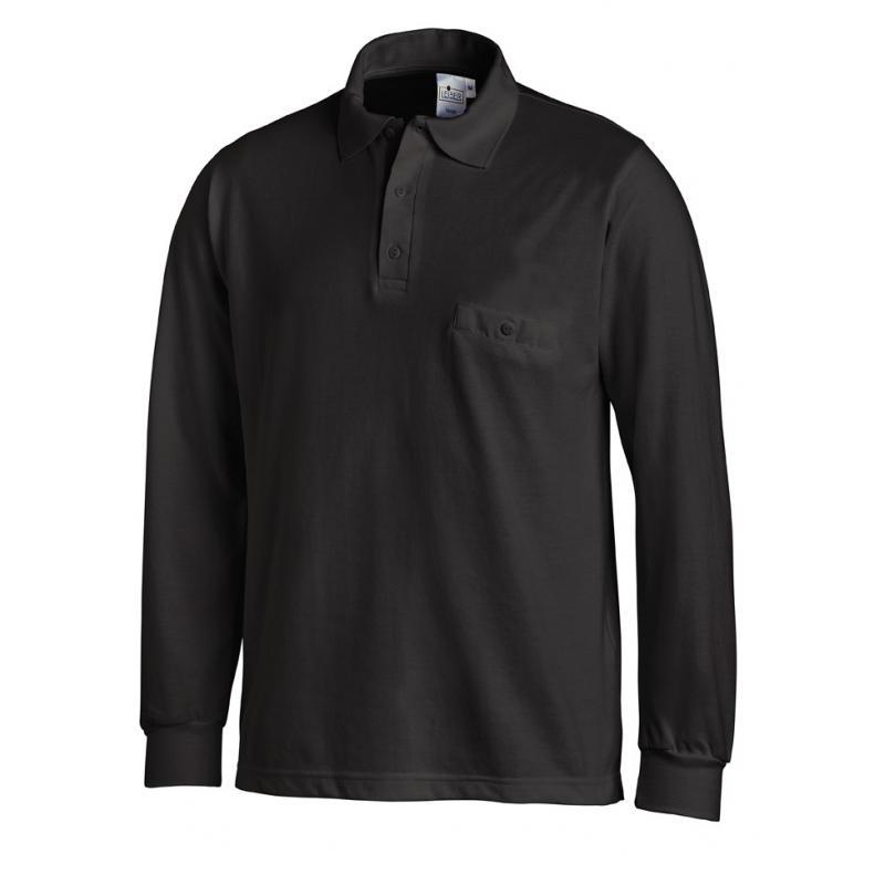 Heute im Angebot: Poloshirt 841 von LEIBER / Farbe: schwarz / 50 % Baumwolle 50 % Polyester