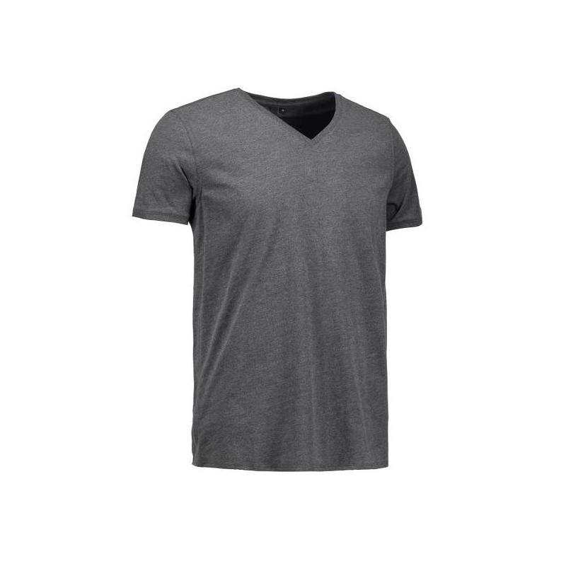 Heute im Angebot: CORE V-Neck Tee Herren T-Shirt 542 von ID / Farbe: koks / 100% BAUMWOLLE in der Region Castrop-Rauxel