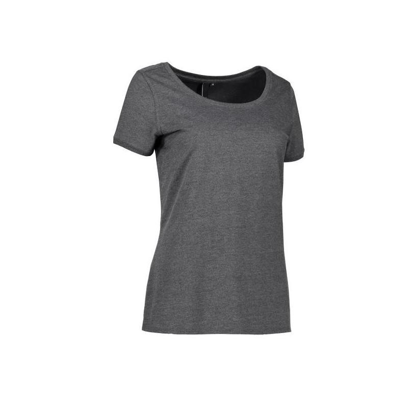Heute im Angebot: CORE O-Neck Tee Damen T-Shirt 541 von ID / Farbe: koks / 100% BAUMWOLLE