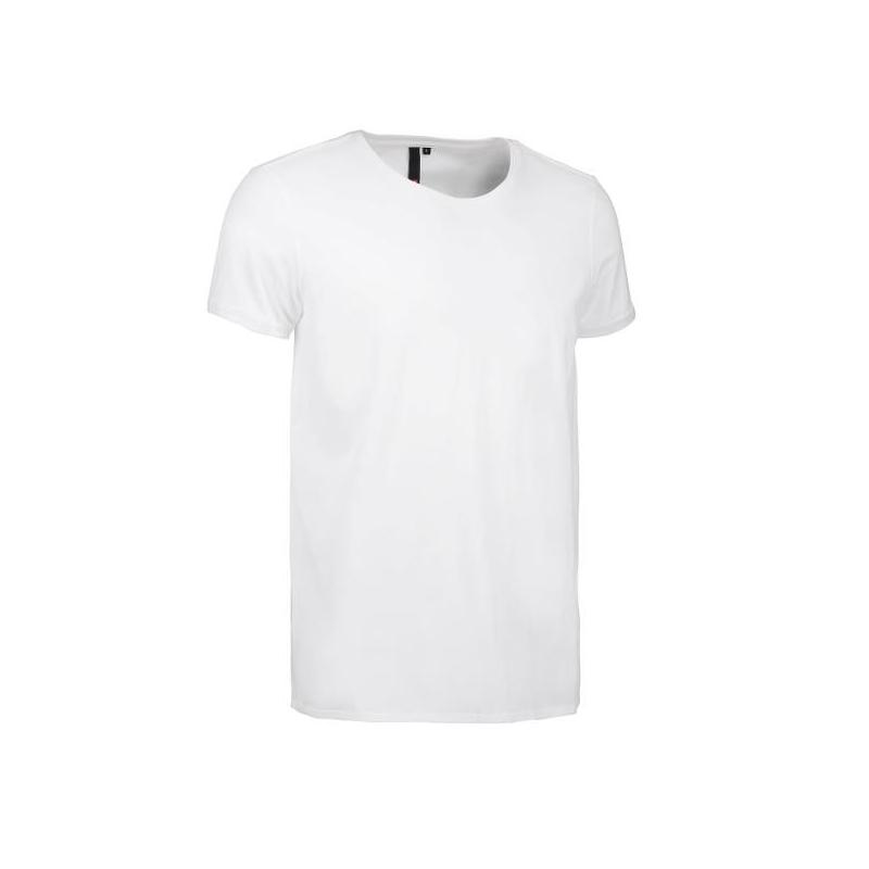 Heute im Angebot: CORE O-Neck Tee Herren T-Shirt 540 von ID / Farbe: weiß / 100% BAUMWOLLE in der Region Dormagen