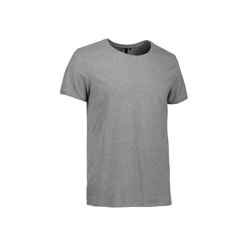 Heute im Angebot: CORE O-Neck Tee Herren T-Shirt 540 von ID / Farbe: grau  / 100% BAUMWOLLE