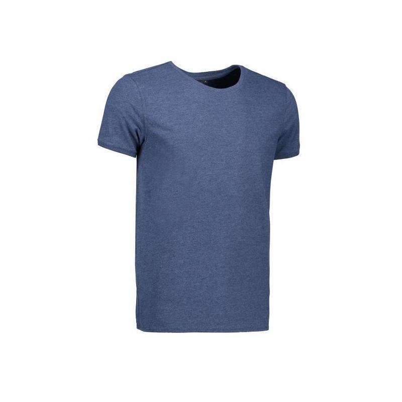 Heute im Angebot: CORE O-Neck Tee Herren T-Shirt 540 von ID / Farbe: blau / 100% BAUMWOLLE