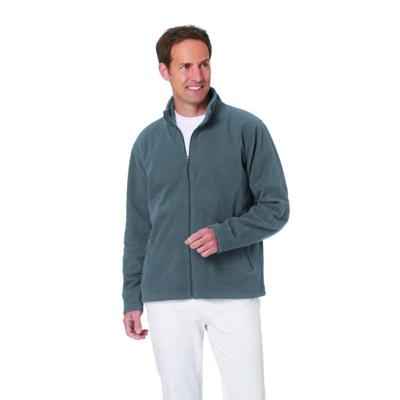 Heute im Angebot: Fleecejacke (Herren) 2665 von LEIBER / Farbe: anthrazit / 100 % Polyester jetzt günstig kaufen