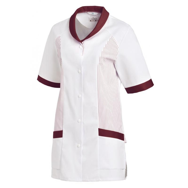 Heute im Angebot: Hosenkasack 800 von LEIBER / Farbe: weiß-bordeaux / 65 % Polyester 35 % Baumwolle in der Region Ludwigslust