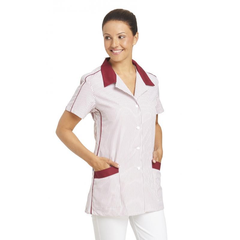 Heute im Angebot: Hosenkasack 559 von LEIBER / Farbe: weiß-bordeaux / 65 % Polyester 35 % Baumwolle jetzt günstig kaufen
