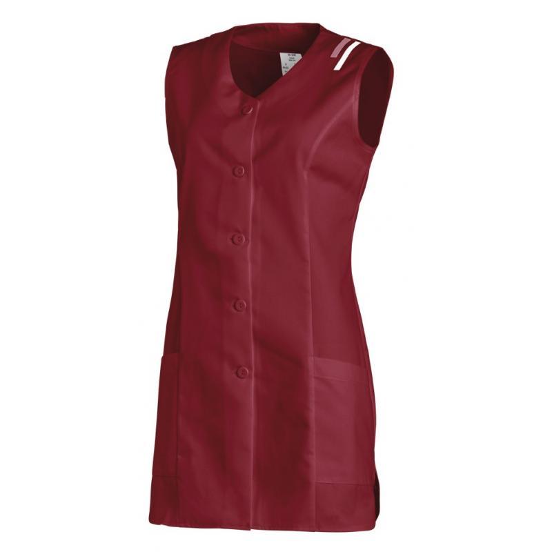 Heute im Angebot: Kasack ohne Arm 1246 von LEIBER / Farbe: bordeaux / 65 % Polyester 35 % Baumwolle in der Region Bautzen