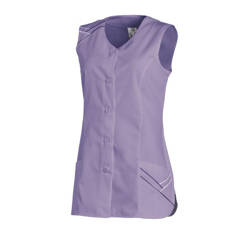 Heute im Angebot: Kasack ohne Arm 1247 von LEIBER / Farbe: flieder / 65 % Polyester 35 % Baumwolle in der Region Bremerhaven