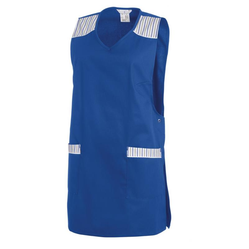 Heute im Angebot: Überwurfschürze 1229 von LEIBER / Farbe: königsblau / 65 % Polyester 35 % Baumwolle in der Region Senftenberg