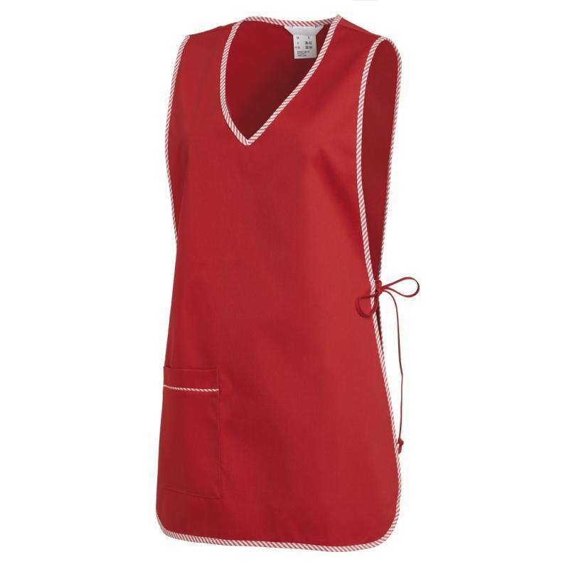 Heute im Angebot: Überwurfschürze 594 von LEIBER / Farbe: rot / 65 % Polyester 35 % Baumwolle jetzt günstig kaufen
