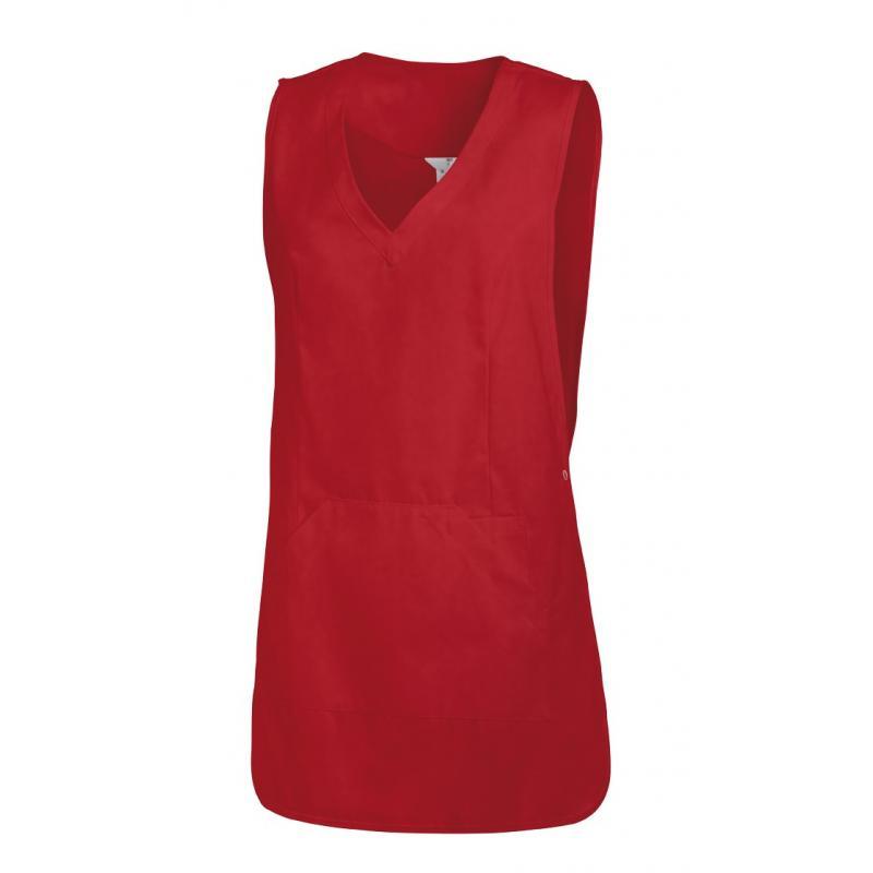Heute im Angebot: Überwurfschürze 641 von LEIBER / Farbe: rot / 65 % Polyester 35 % Baumwolle