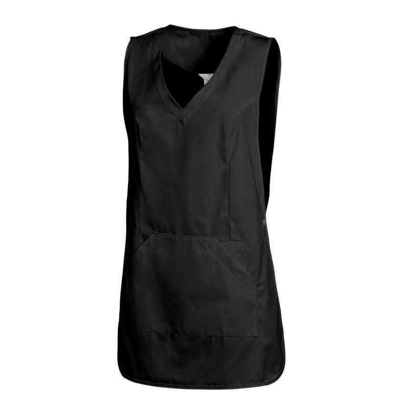 Heute im Angebot: Überwurfschürze 641 von LEIBER / Farbe: schwarz / 65 % Polyester 35 % Baumwolle