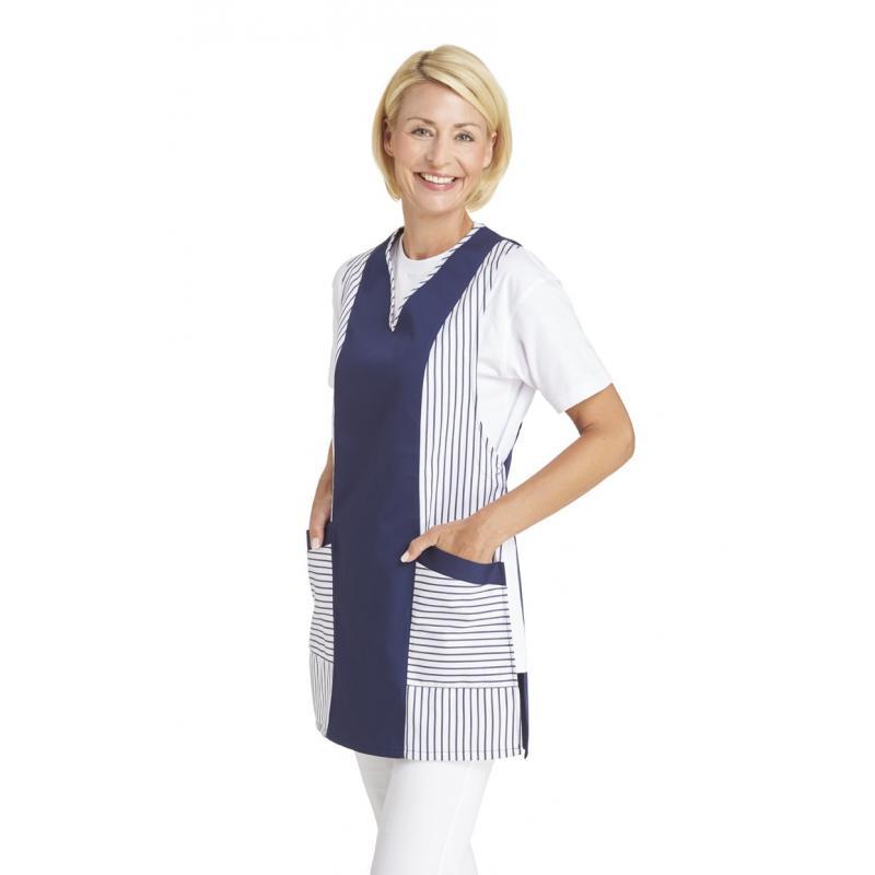 Heute im Angebot: Chasuble 264 von LEIBER / Farbe: weiß-marine / 65 % Polyester 35 % Baumwolle jetzt günstig kaufen