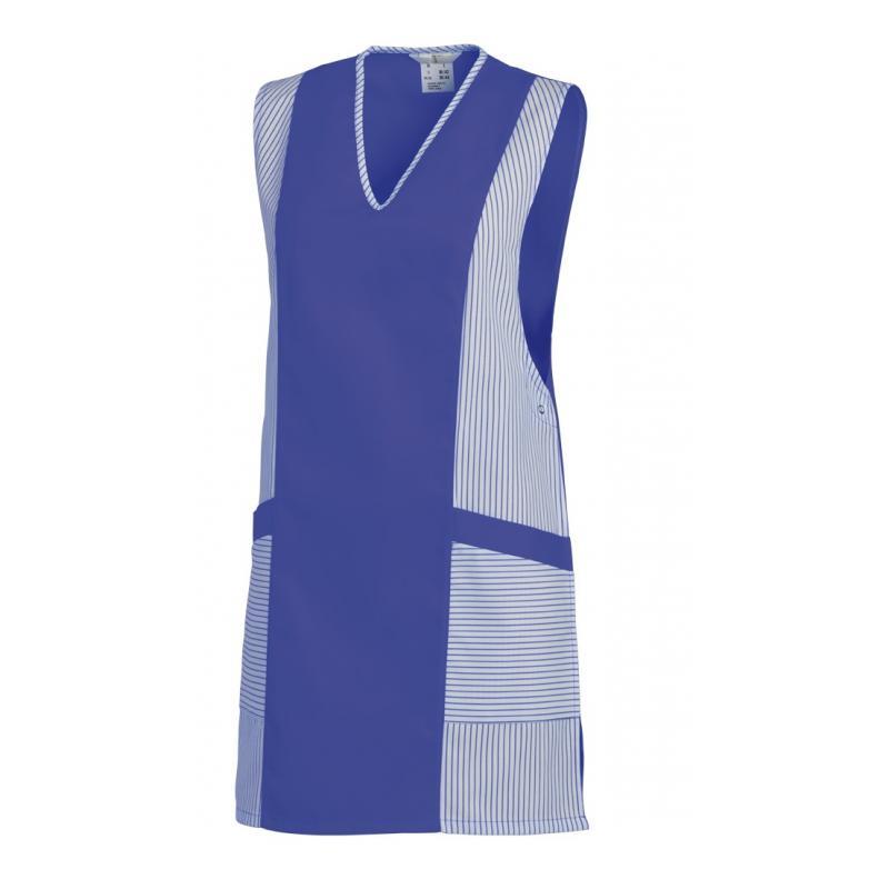 Heute im Angebot: Chasuble 264 von LEIBER / Farbe: weiß-königsblau / 65 % Polyester 35 % Baumwolle