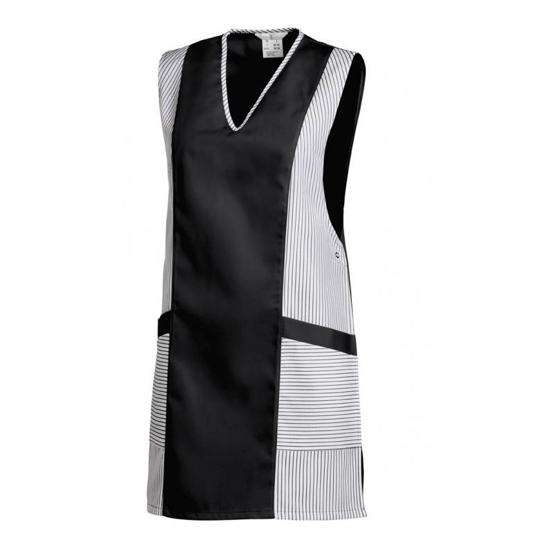 Heute im Angebot: Chasuble 264 von LEIBER / Farbe: weiß-schwarz / 65 % Polyester 35 % Baumwolle