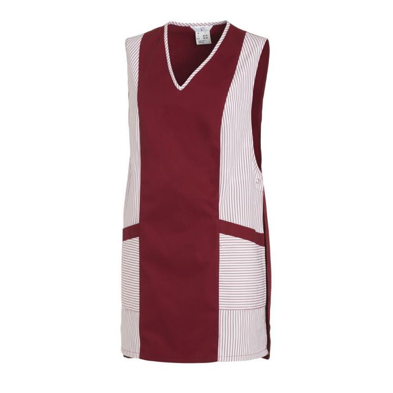 Heute im Angebot: Chasuble 264 von LEIBER / Farbe: weiß-bordeaux / 65 % Polyester 35 % Baumwolle